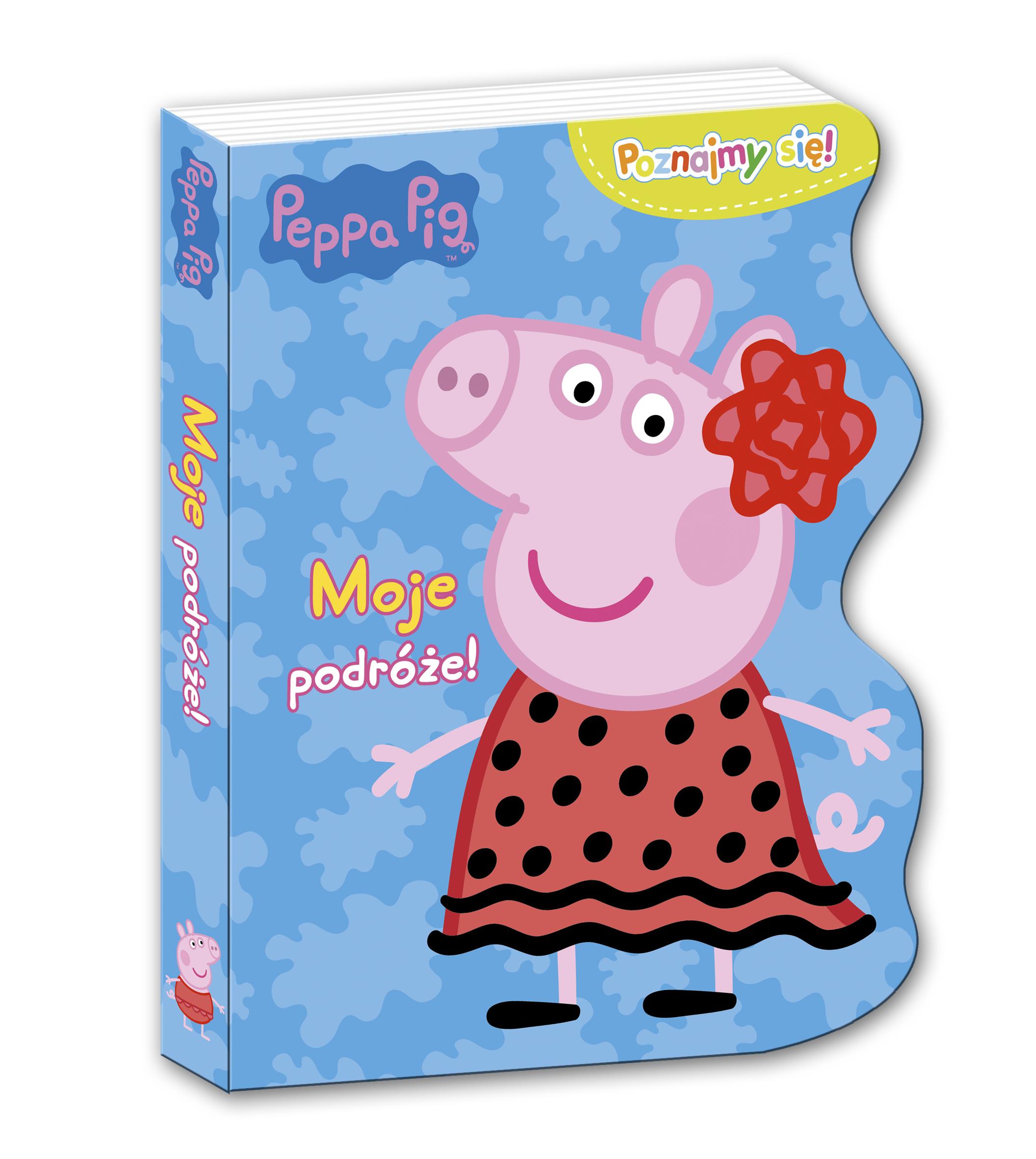 Moje podróże Świnka Peppa poznajmy się