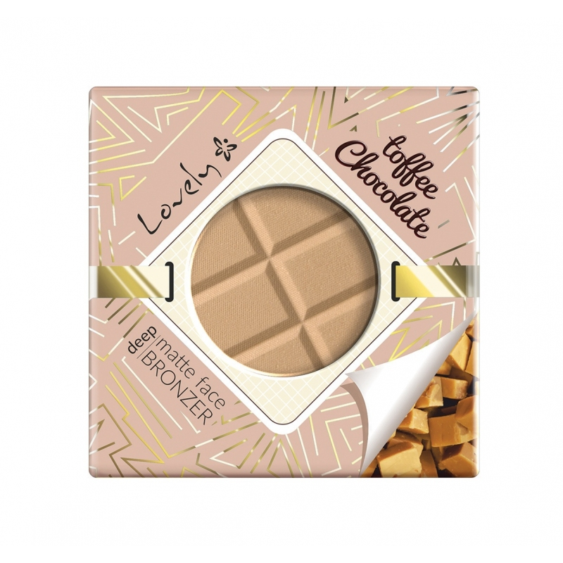 Toffee Chocolate Deep Matte Face Bronzer czekoladowy matowy puder brązujący do twarzy i ciała