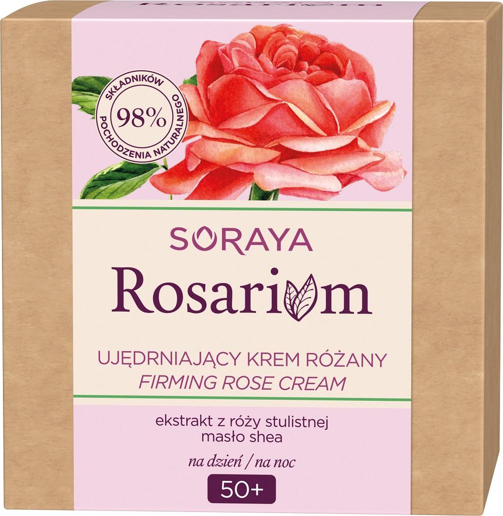 Rosarium Firming Rose Cream ujędrniający krem do twarzy na dzień/noc 50+ Różany