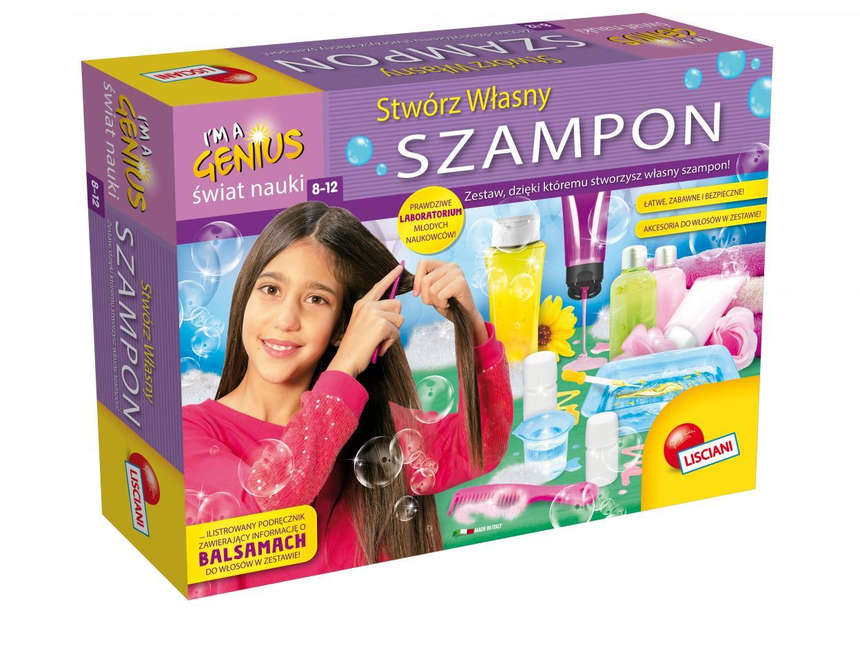 I'm a Genius. Stwórz własny szampon