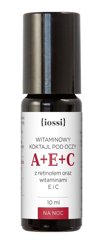 A+E+C witaminowy koktajl pod oczy retinol, witaminy E i C
