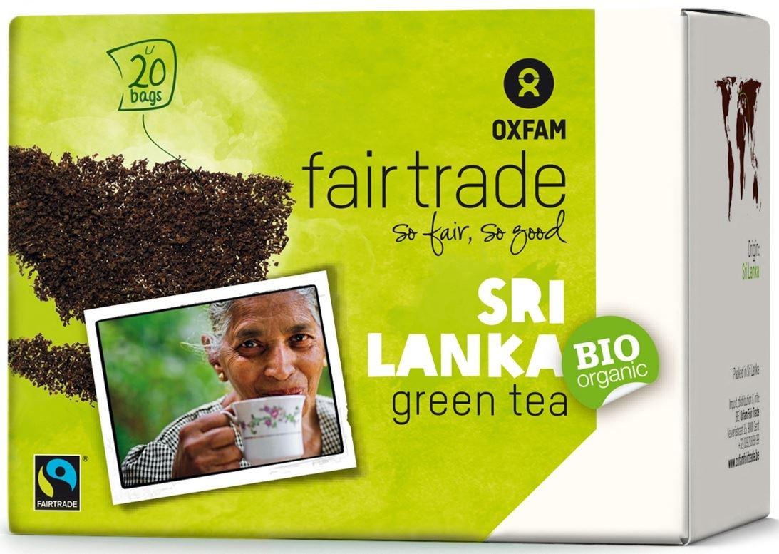 Herbata zielona ekspresowa fair trade