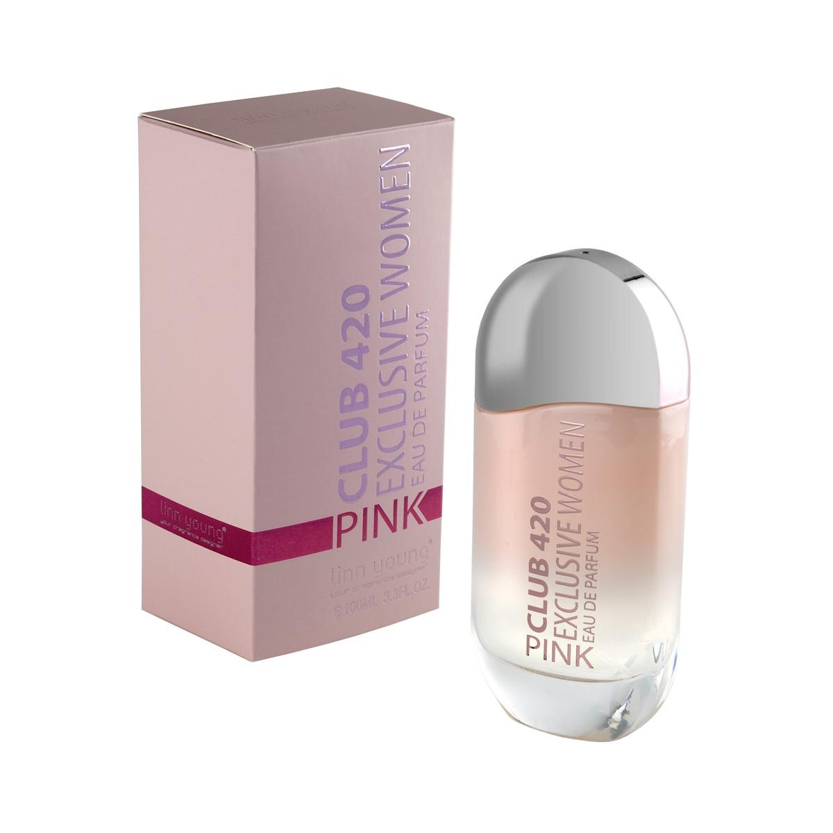 Woda perfumowana dla kobiet Club 420 Pink Exclusive Women