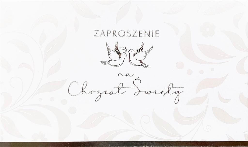 Zaproszenie Ślub ZP-14 (10 szt.)
