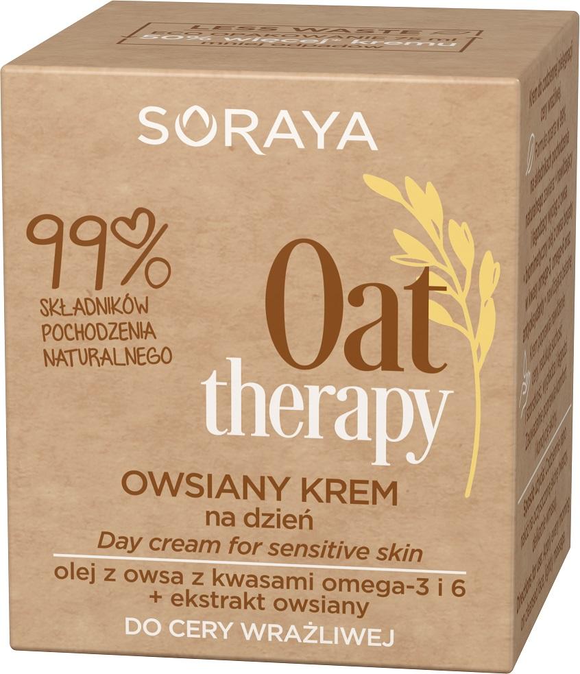 Oat Therapy Day Cream owsiany krem do twarzy na dzień do cery wrażliwej
