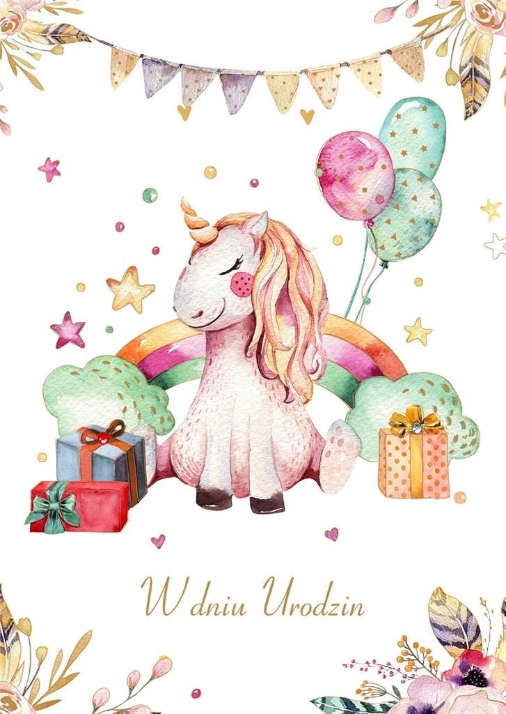 Karnet Urodziny GM-516