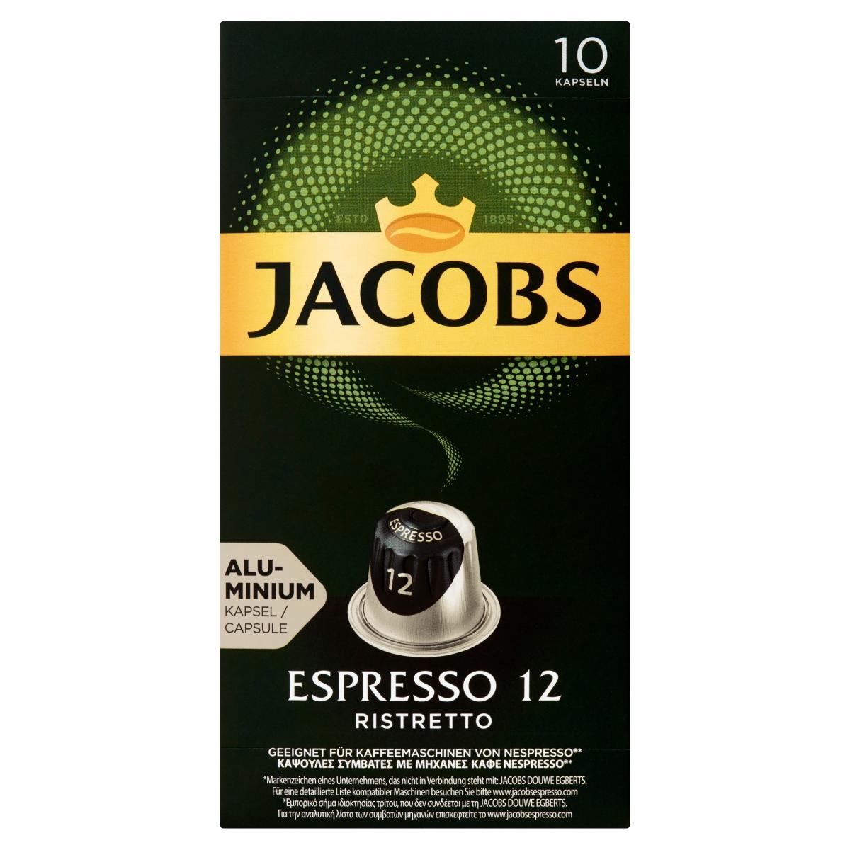 Espresso Ristretto Kawa mielona w kapsułkach
