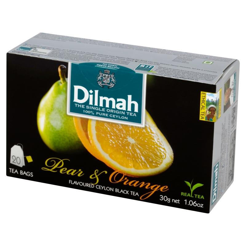 Cejlońska czarna herbata z aromatem gruszki i pomarańczy