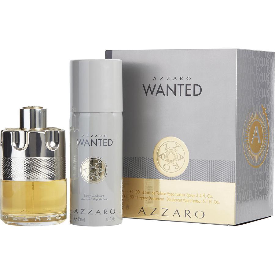 Wanted Woda toaletowa spray 100ml + Dezodorant w sprayu 150ml