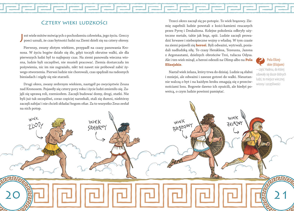 Mity greckie dla dzieci