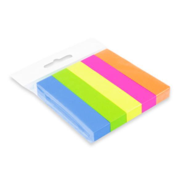 Notes samoprzylepny zakładka 15x76mm 5 kolorów CX13-126