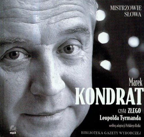 Zły czyta Marek Kondrat (Płyta CD)