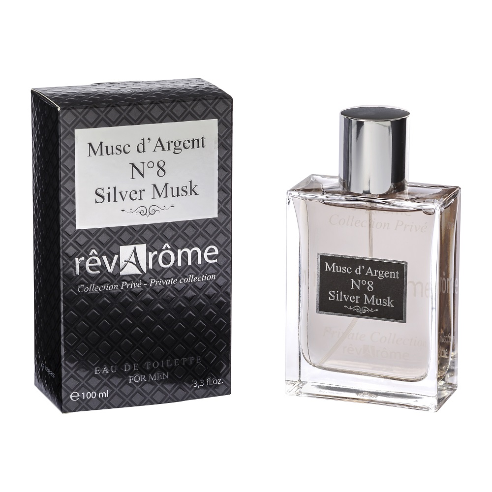 Private Collection No. 8 Silver Musk For Men Woda toaletowa