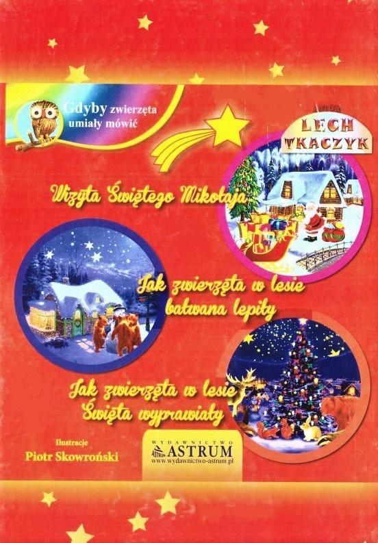 Trzy bajki świąteczne + audiobook