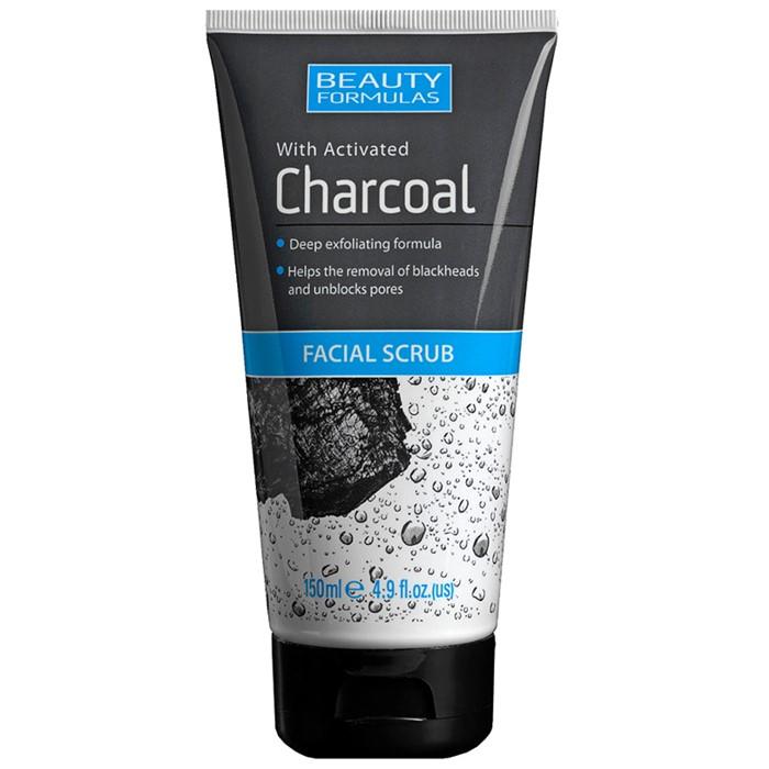 Charcoal Facial Scrub oczyszczający peeling do twarzy z aktywnym węglem