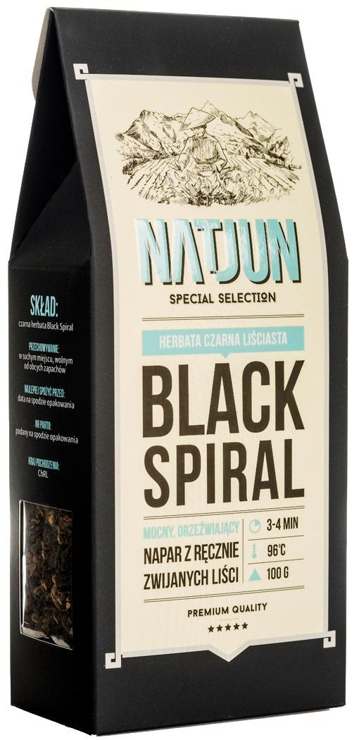 Herbata czarna Black Spiral