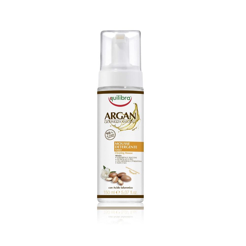 Giovinezza Naturale Mousse Detergente Cleansing Foam arganowa pianka oczyszczająca