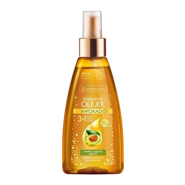 Awokado 3w1 drogocenny olejek do ciała twarzy i włosów