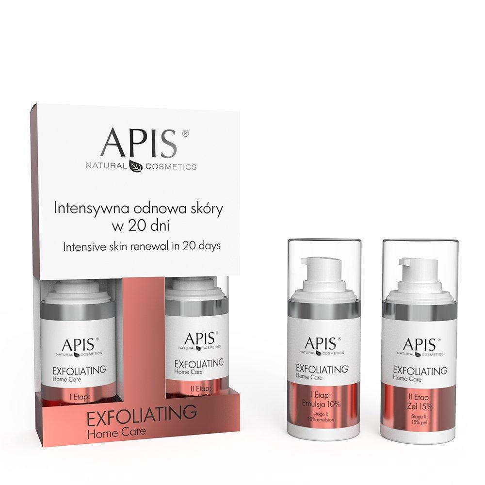 Exfoliating Home Care intensywna odnowa skóry w 20 dni emulsja 10% + żel 15%