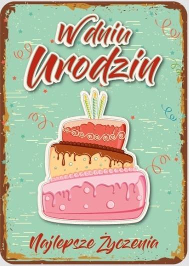 Karnet Urodziny GM-417