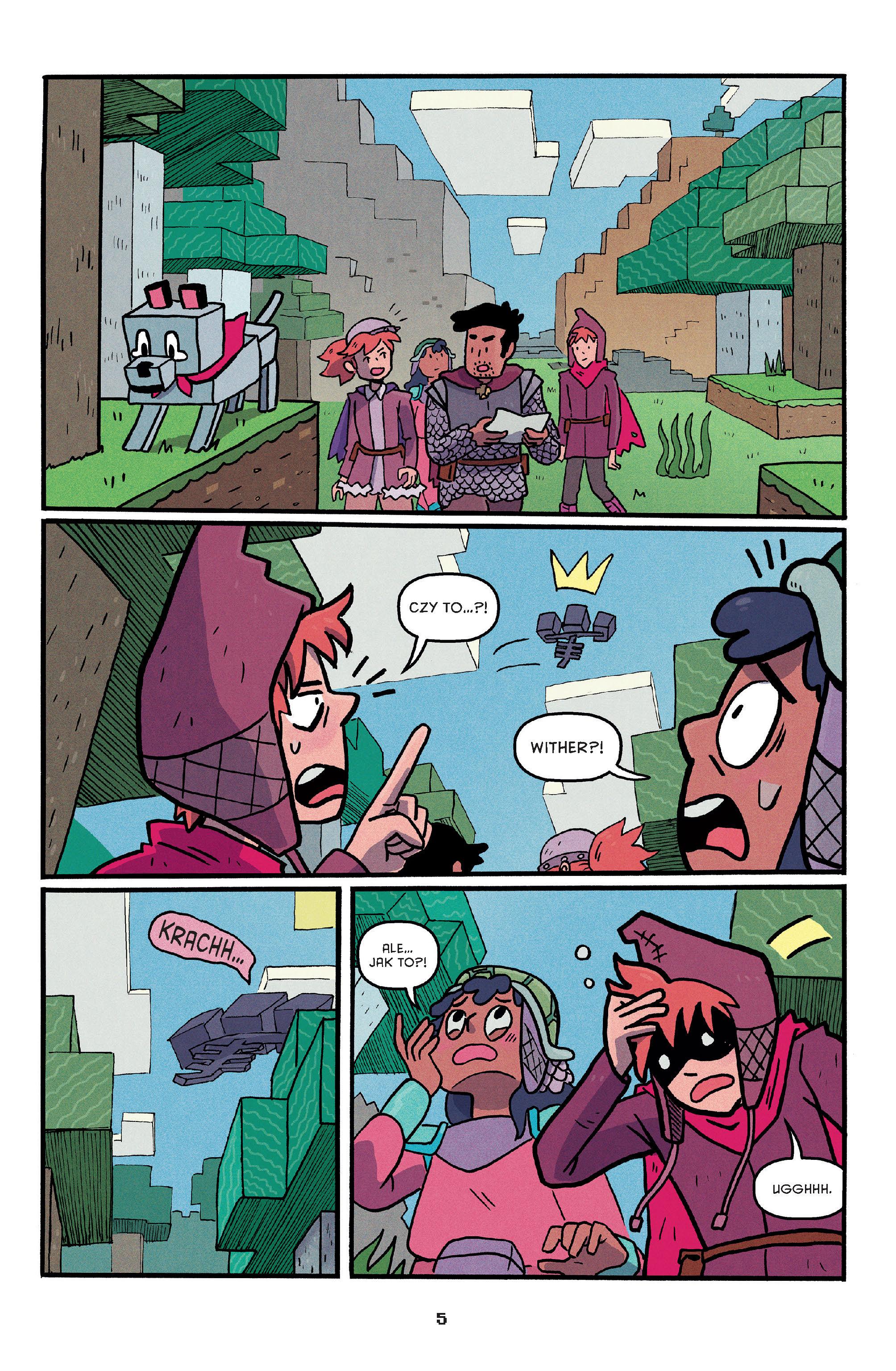 Minecraft. Na pastwę mobów. Tom 2