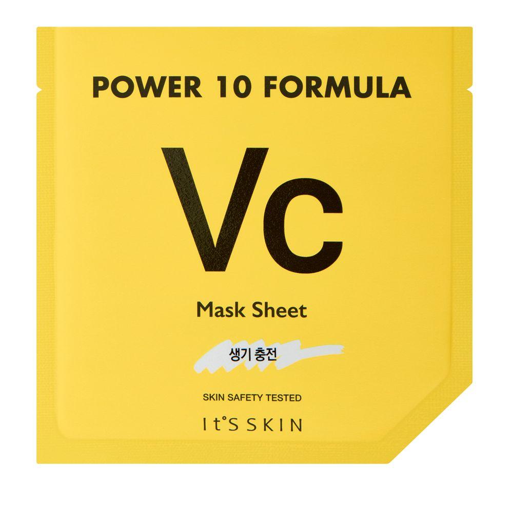 Power 10 Formula Mask Sheet VC rozjaśniająca maska w płachcie z witaminą C