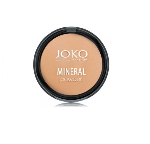 JOKO_Make-Up Mineral Powder mineralny puder matujący 03 Dark Beige
